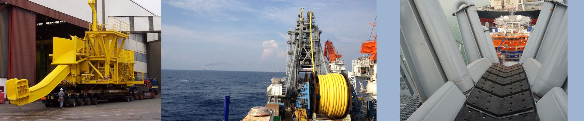 Auxiliary equipment offshore